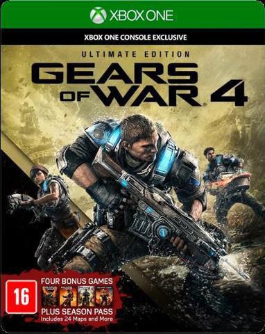 Jogo Gears Of War 4: Ultimate Edition - Xbox One - Microsoft