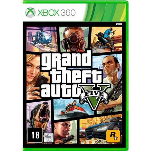 Imagem de Jogo Grand Theft Auto V (GTA 5) - Xbox 360
