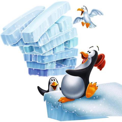 Imagem de Jogo Infantil Pinguim Tremelik 3556 - DTC - DTC