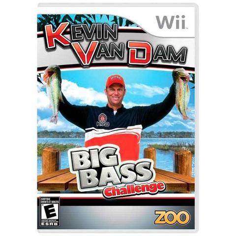 Jogo Kevin Van Dams Big Bass Challenge - Wii - Zoo Games