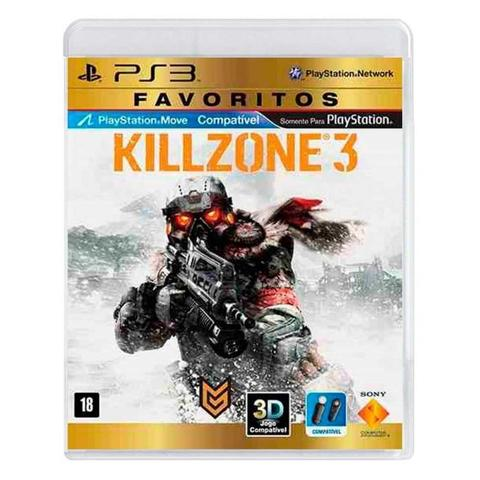 Jogo Killzone 3 - Playstation 3 - Sieb