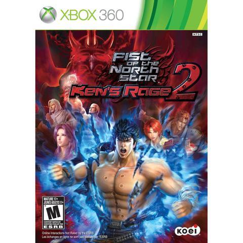 Jogo Fist Of The North Star Ken's Rage 2 - Xbox 360 - Koei