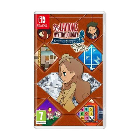 Jogo Laytons Mystery Journey Katrielle And The Millionaires Conspiracy - Switch - Nintendo