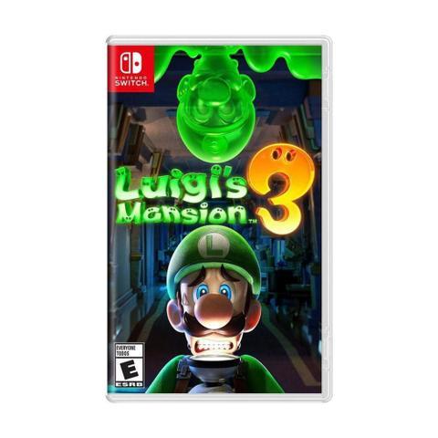 Jogo Luigis Mansion 3 - Switch - Nintendo