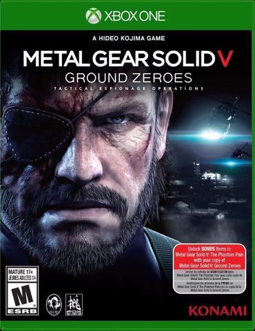 Jogo Metal Gear Solid V: Ground Zeroes - Xbox One - Konami