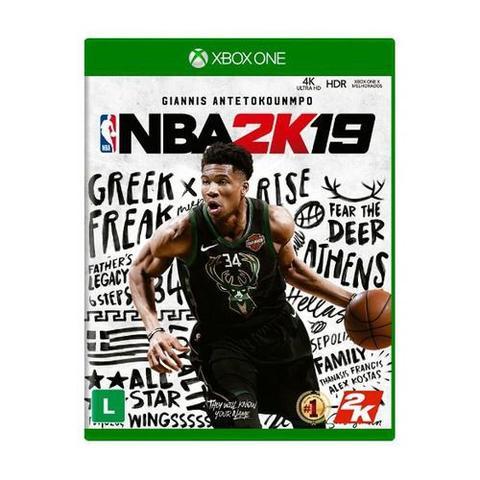 Jogo Nba 2k19 - Xbox One - 2k Sports