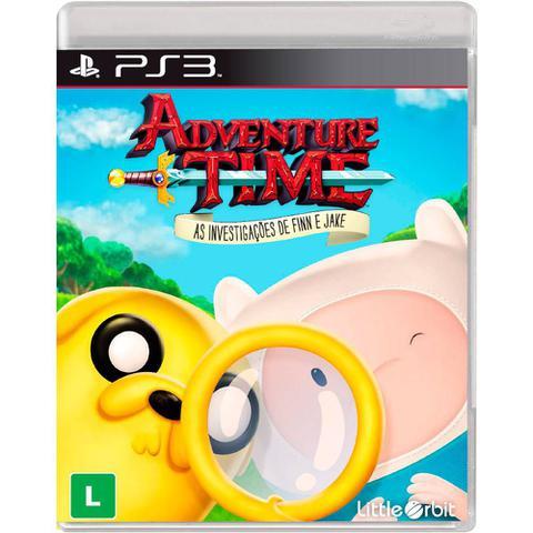 Jogo Adventure Time: as Investigações de Finn e Jake - Playstation 3 - Little Orbit