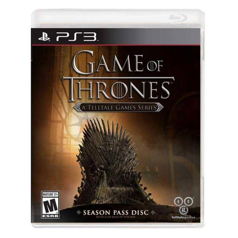 Jogo Game Of Thrones: a Telltale Games Series - Playstation 3 - Telltale Games