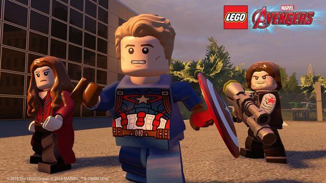 Imagem de Jogo p/ PC Lego Marvel Vingadores DVD Mídia Física