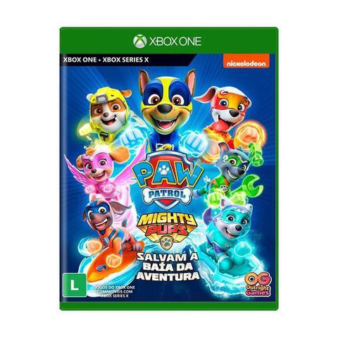 Jogo a Patrulha Canina Super Filhotes Salvam a Baia da Aventura - Xbox One - Outright Games