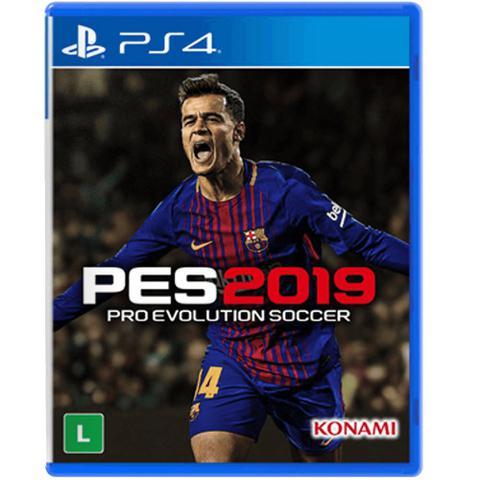 Imagem de Jogo Pro Evolution Soccer 2019 PS4 Konami Mídia Física