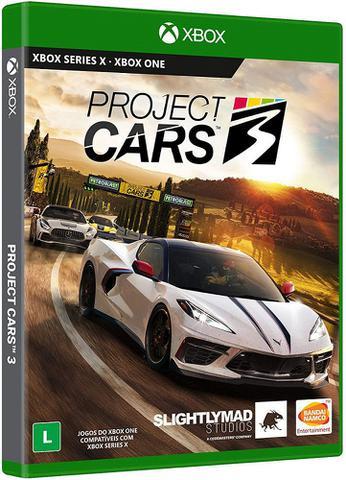 Jogo Project Cars 3 - Xbox One - Bandai Namco Games