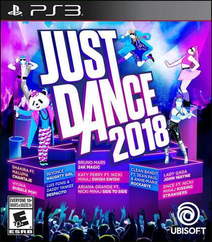Imagem de Jogo ps3 just dance  2018