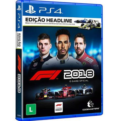 Imagem de Jogo PS4 F1 2018