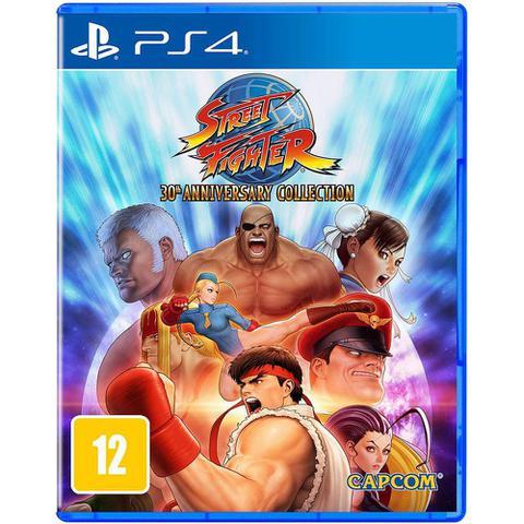 Imagem de Jogo PS4 Street Fighter 30th Anniversary Collection