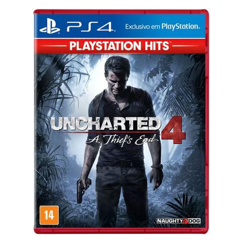 Imagem de Jogo PS4 - Uncharted 4 - A Thief's End - PlayStation Hits - Sony