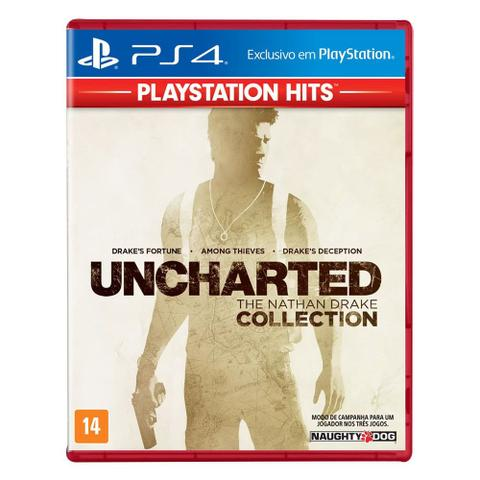 Imagem de Jogo PS4 - Uncharted - The Nathan Drake Collection - PlayStation Hits - Sony