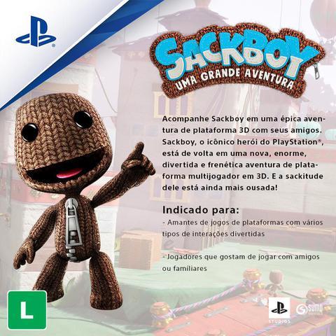Imagem de Jogo ps5 sackboy: uma grande aventura   playstation