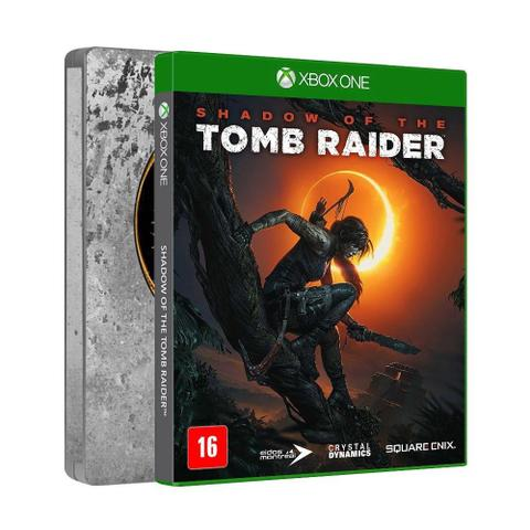 Jogo Shadow Of The Tomb Raider Limited Steelbook Edition - Xbox One - Sony