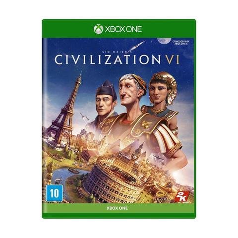 Jogo Sid Meiers Civilization Vi - Xbox One - 2k Games