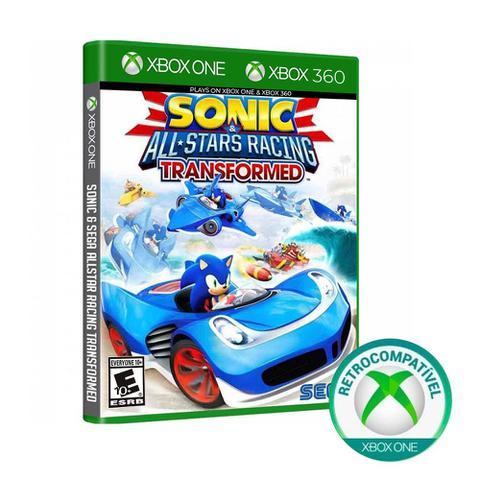 Jogo Sonic & Sega All-stars Racing - Xbox 360 - Sega