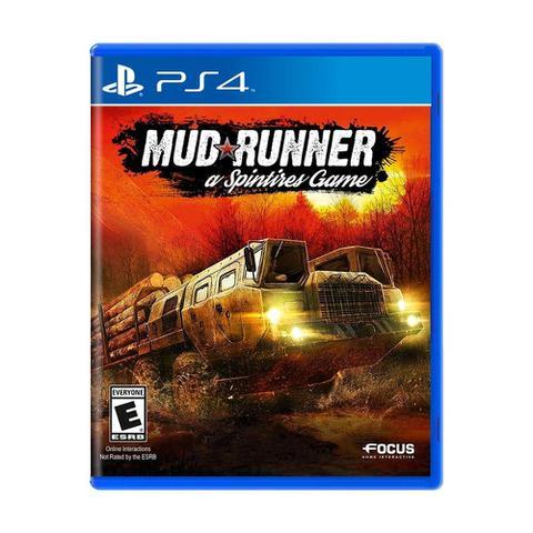 Jogo Spintires: Mudrunner - Playstation 4 - Focus Home Interactive