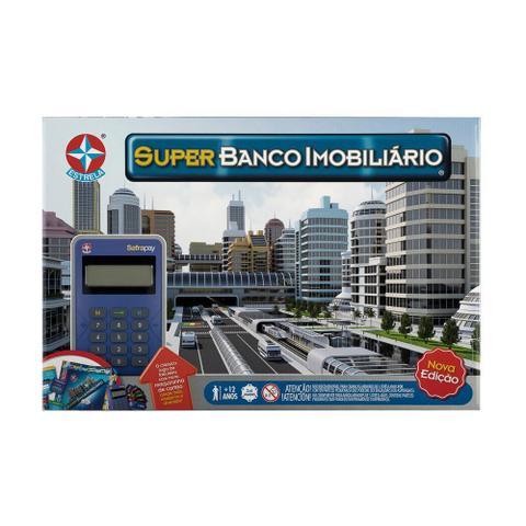 Imagem de Jogo Super Banco Imobiliário Com Cartão Estrela