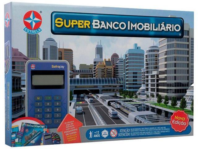 Imagem de Jogo Super Banco Imobiliário Tabuleiro