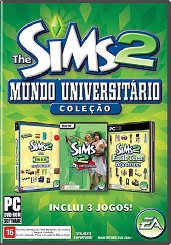 Imagem de Jogo the sims 2 mundo universitario - pc