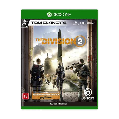 Jogo Tom Clancy's The Division 2 - Xbox One - Ubisoft