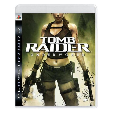 Jogo Tomb Raider Underworld - Playstation 3 - Eidos