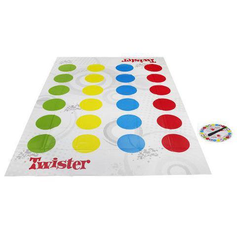 Imagem de Jogo Twister Novo Hasbro 98831 8516