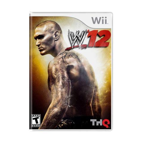 Imagem de Jogo WWE 12 - Wii