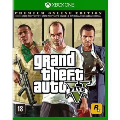 Imagem de Jogo Xbox One GTA V Premium Edition  ROCKSTAR GAMES