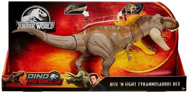 Imagem de Jurassic World 2 Dino Rivals Tyranosauros Rex GCT91 - Mattel