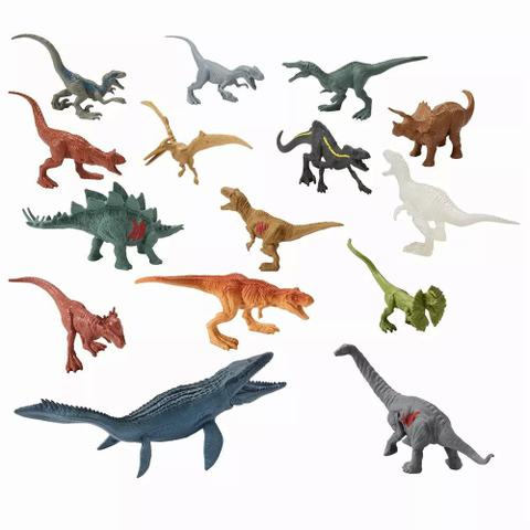 Imagem de Jurassic World Conjunto com 15 Dinossauros - Mattel