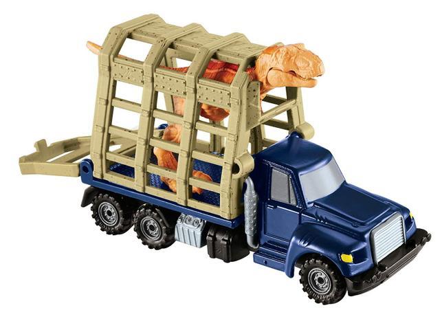 Imagem de Jurassic World Matchbox Trailer Caminhão E T. Rex FMY31B - Mattel