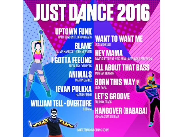 Imagem de Just Dance 2016 para PS3