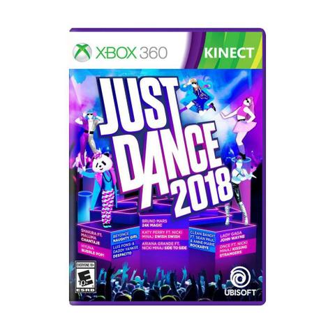 Jogo Just Dance 2018 - Xbox 360 - Ubisoft