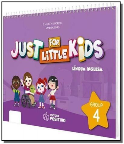 Imagem de Just for little kids - grupo 4 - educacao infantil