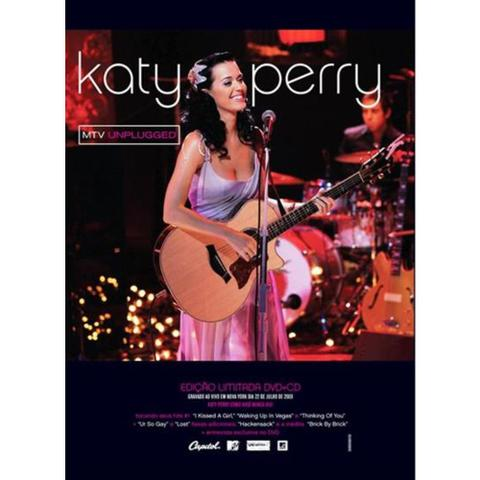 Imagem de Katy perry - mtv unplugged (dvd+cd)