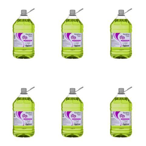 Imagem de Kelma Keratina Shampoo 1900ml (Kit C/06)