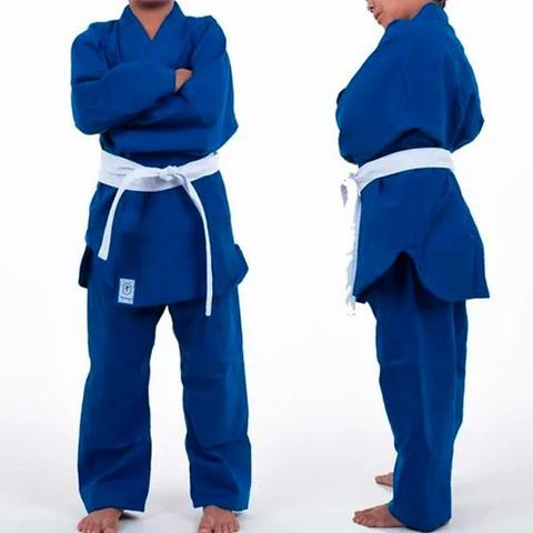 Imagem de Kimono de Judô Infantil Combate Torah Azul