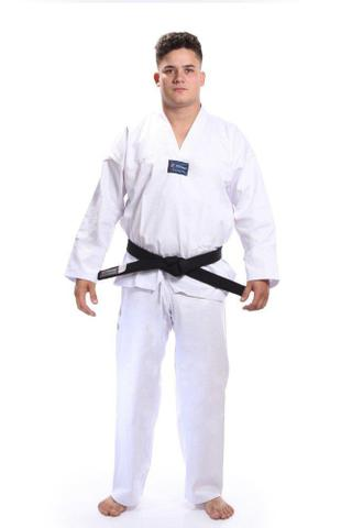 Imagem de Kimono dobok Taekwondo Gola Branca - Torah