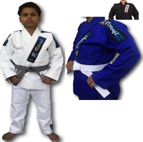 Imagem de Kimono Infantil Trançado Plus Jiu Jitsu - Torah