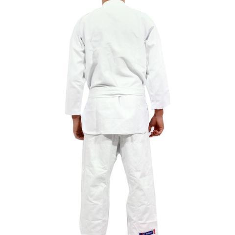 Imagem de Kimono Jiu Jitsu Torah Trançado Ktlji Branco
