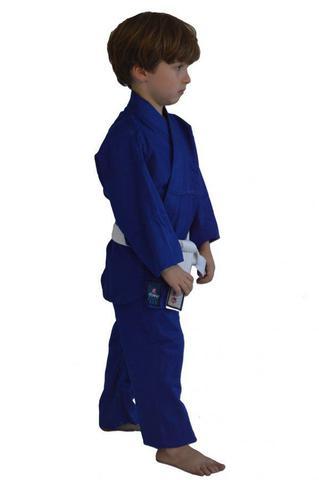 Imagem de Kimono Judo Gi / Jiu-Jitsu - Combat KC- Infantil - Azul - Torah
