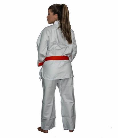 Imagem de Kimono Karate Flex - Brim Reforçado - Branco Adulto - Torah
