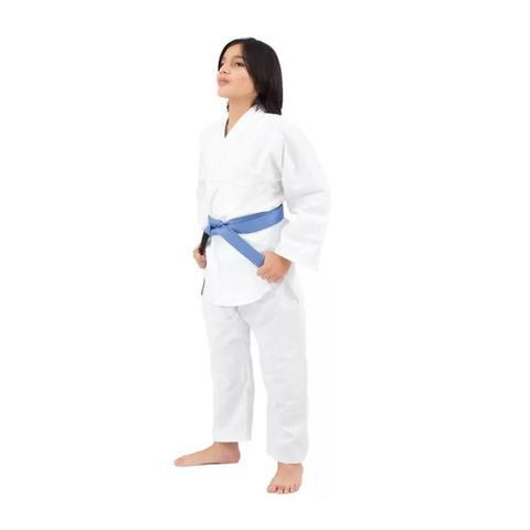 Imagem de Kimono Lonado Especial K10 Kids Karate Torah - Branco