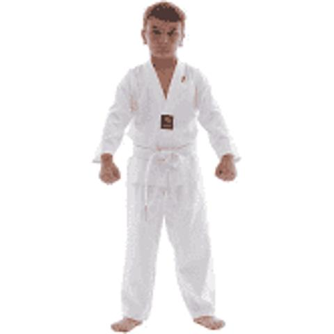 Imagem de Kimono Taekwondo Torah Infantil Branco Tamanho M2